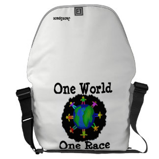 One World, One Race Commuter Bag