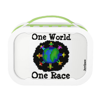 One World, One Race Lunchboxes