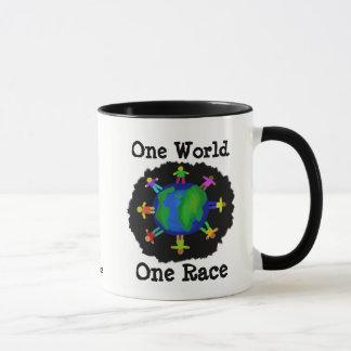 One World, One Race Mug