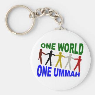 One World One Ummah Keychain