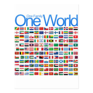 One World Postcard