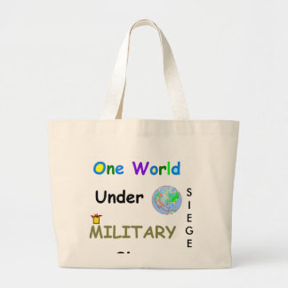 One World Tote Canvas Bag