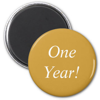 One Year NC Magnet! Magnet
