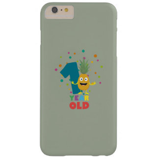 One Year old first Birthday Party Zpuo7 Barely There iPhone 6 Plus Case