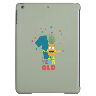 One Year old first Birthday Party Zpuo7 Cover For iPad Air