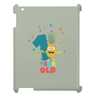 One Year old first Birthday Party Zpuo7 Cover For The iPad 2 3 4