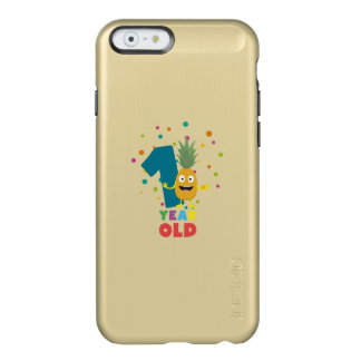 One Year old first Birthday Party Zpuo7 Incipio Feather® Shine iPhone 6 Case