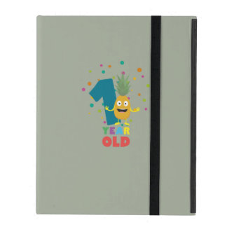 One Year old first Birthday Party Zpuo7 iPad Case