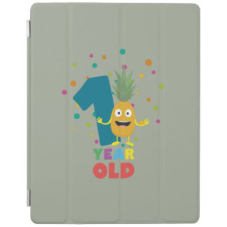 One Year old first Birthday Party Zpuo7 iPad Cover