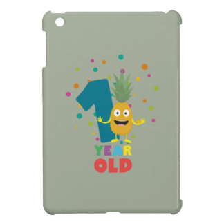 One Year old first Birthday Party Zpuo7 iPad Mini Case