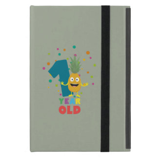 One Year old first Birthday Party Zpuo7 iPad Mini Cover