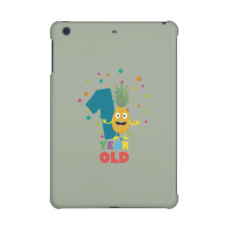 One Year old first Birthday Party Zpuo7 iPad Mini Covers
