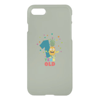 One Year old first Birthday Party Zpuo7 iPhone 8/7 Case