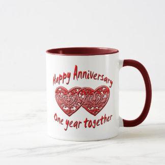 One Year Together Mug