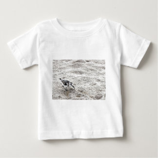 One Young Snowy Plover Bird Baby T-Shirt
