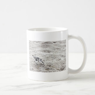 One Young Snowy Plover Bird Coffee Mug