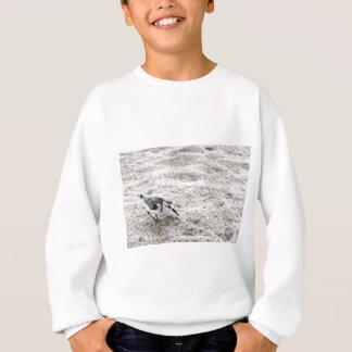 One Young Snowy Plover Bird Sweatshirt