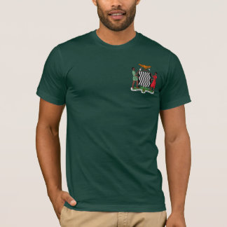 """""""One Zambia One Nation"""" Zambia Coat of Arms Hoodie"""
