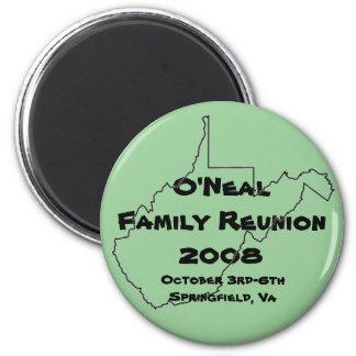 O'Neal Family Reunion Magnet
