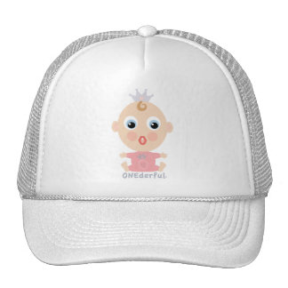 ONEderful BABY Face - pink Hat