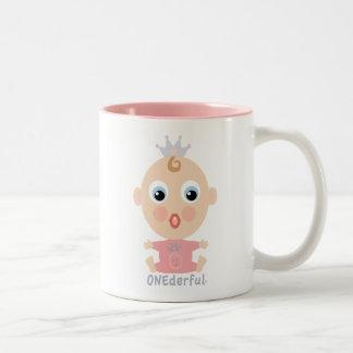 ONEderful BABY Face - pink Mug