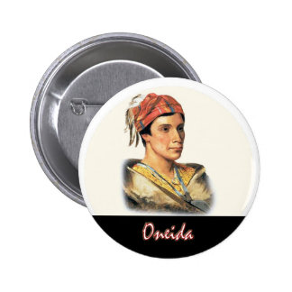 Oneida 2 Inch Round Button