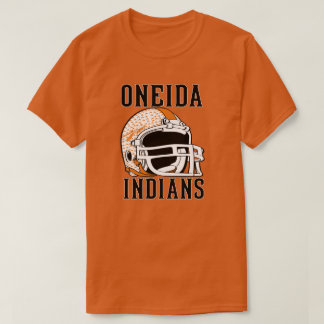 Oneida Tennessee football pride with spear T-Shirt