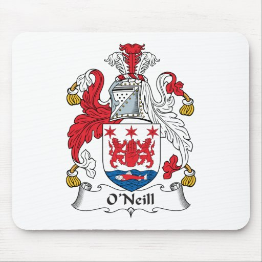 O'Neill Family Crest Mouse Pad