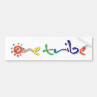 onetribe bumper stickers