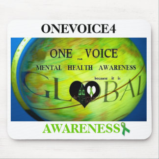 ONEVOICE4 AWARENESS MOUSE PAD