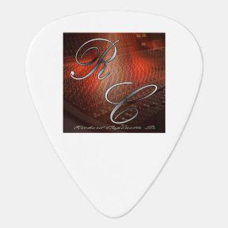 Onglet de guitare de logo d'artiste