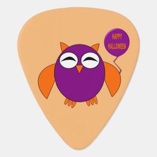 Onglet de guitare heureux de hibou de partie de
