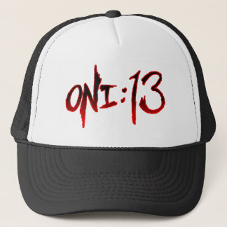 Oni:13 Logo Trucker Hat (black)