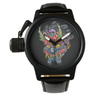Oni Mask Wristwatches