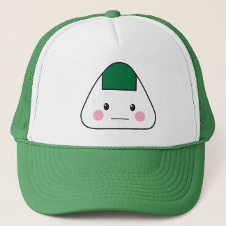 Onigiri omusubi Japanese rice ball seaweed nori Trucker Hat