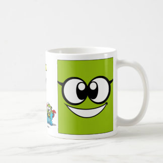 Onion & Pea eyes mug. Coffee Mug