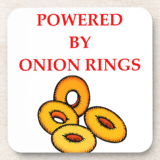 ONION RINGS DRINK COASTER