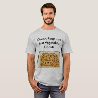 Onion Rings- Food Puns T-Shirt