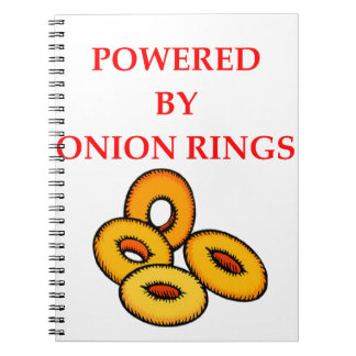ONION RINGS SPIRAL NOTEBOOK