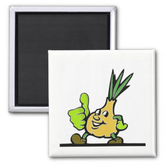 Onion With Thumbs Up Magnet