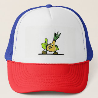 Onion With Thumbs Up Trucker Hat
