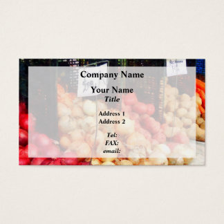 Onions and Potatoes Business Card