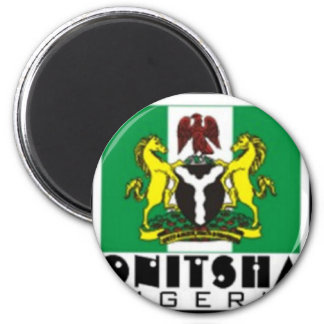Onitsha, Nigeria T-shirt And Etc Magnet