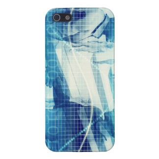 Online Meeting for Business with Men Shaking Hands iPhone 5/5S Cases