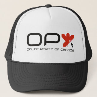 Online Party of Canada Trucker Hat