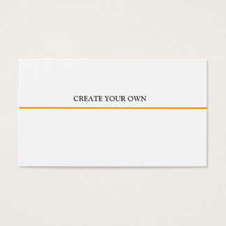 Online Professional Design  Basic MINIMALIST Business Card