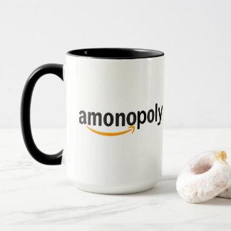 "Online retail monopoly subvert ""Amonopoly"" Mug"