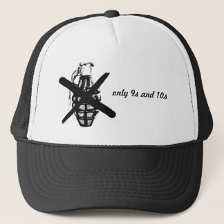 only 9s and 10s trucker hat