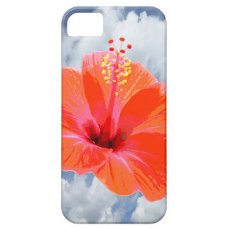 Only a Hibiscus Blossom + your text & ideas iPhone 5 Cover