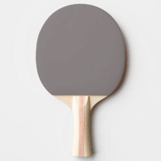 Only aluminum grey rustic solid colour ping pong paddle